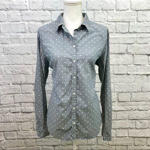 Banana Republic Soft Wash Button Down Blouse